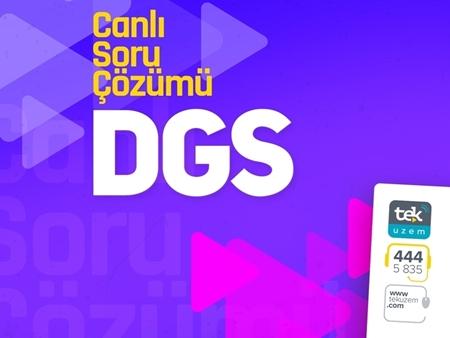 Kategori İçin Resim 2018 DGS