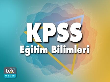 Kategori İçin Resim Kpss - Eğitim Bilimleri