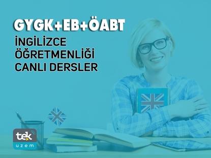 Resim 2020 GY/GK - E.B - ÖABT İngilizce Öğretmenliği Alan Bilgisi Canlı Dersler