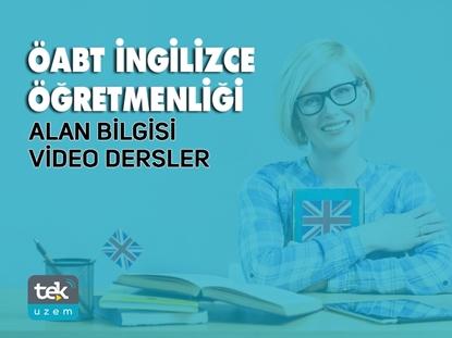 Resim 2019 ÖABT İngilizce Öğretmenliği Alan Bilgisi Video Dersler