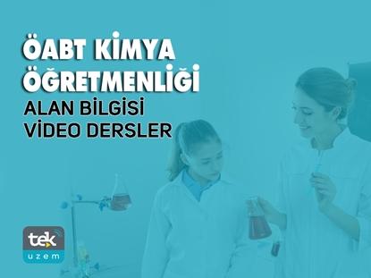 Resim 2019 ÖABT Kimya Öğretmenliği Alan Bilgisi Video Dersler