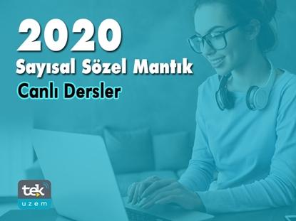 Resim 2020 SAYISAL SÖZEL MANTIK CANLI DERSLER