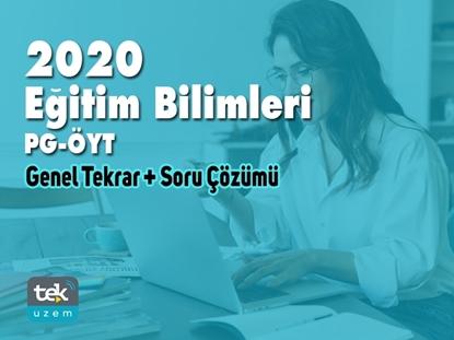 Resim 2020 GENEL TEKRAR EĞİTİM BİLİMLERİ - PG-ÖYT Video Ders