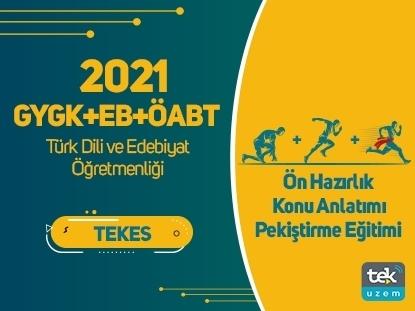 Resim 2021 GY-GK+EB+ ÖABT Türk Dili ve Edebiyat Öğretmenliği Canlı Tam Paket Eğitimi