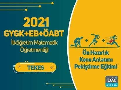 Resim 2021 GY-GK+EB+ÖABT İlkÖğretim Matematik Öğretmenliği Canlı Tam Paket Eğitimi
