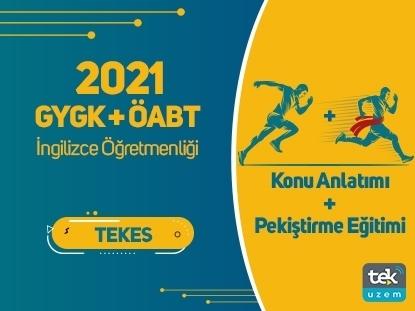 Resim 2021 GY-GK+  ÖABT İngilizce Öğretmenliği Canlı Konu Anlatımı+ Pekiştirme Eğitimi