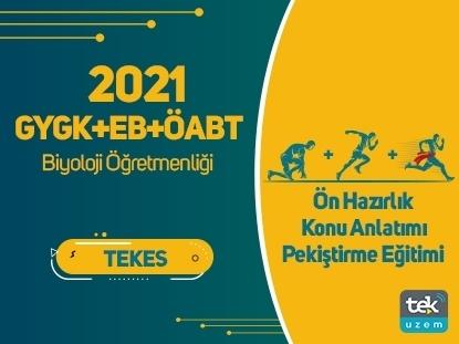 Resim 2021 GY-GK+EB+ÖABT Biyoloji Öğretmenliği Canlı Tam Paket Eğitimi