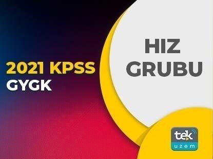 2021 KPSS GYGK HIZ GRUBU