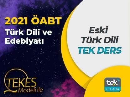Resim 2021 ÖABT Türk Dili ve Edebiyatı - Eski Türk Dili  Video Ders