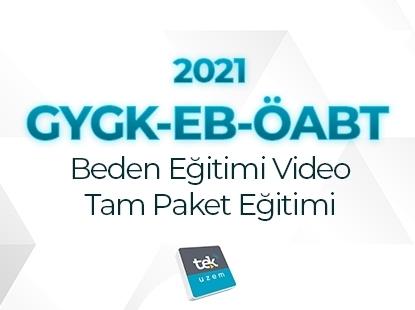 Resim 2021 GY-GK+EB+ÖABT Beden Eğitimi Öğretmenliği Video Tam Paket Eğitimi