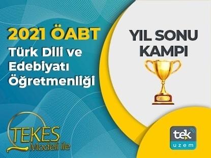 2021 ÖABT Türk Dili ve Edebiyatı Yıl Sonu Kampı