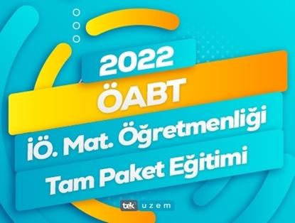 2022 ÖABT İlköğretim Matematik Tam Paket Eğitimi