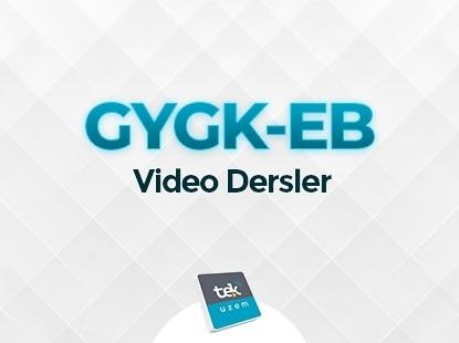 KPSS GYGK- EB VİDEO HIZ GRUBU