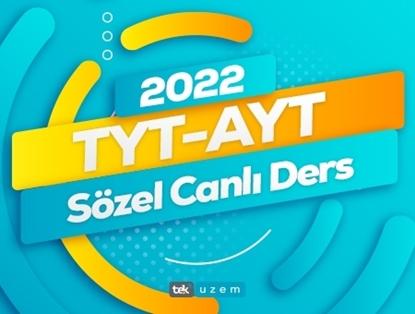 2022 TYT/ AYT Sözel Canlı Ders Eğitimi