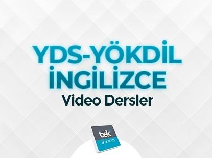 YDS-YÖKDİL VİDEO DERSLER