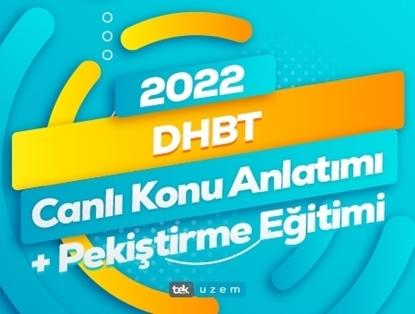 2022 DHBT Canlı Konu Anlatımı-Pekiştirme Eğitimi